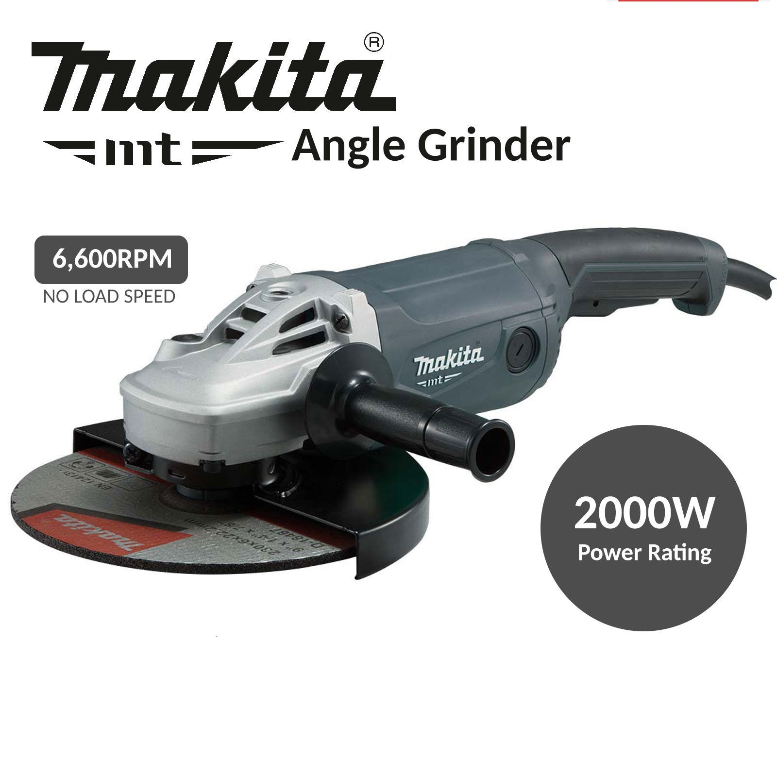 Makita MT Series 9 Angle Grinder M9001G Singapore Online Home DIY Hardware Tools Shop